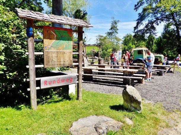 Ausgangspunkt Walderlebnispfad Möggers