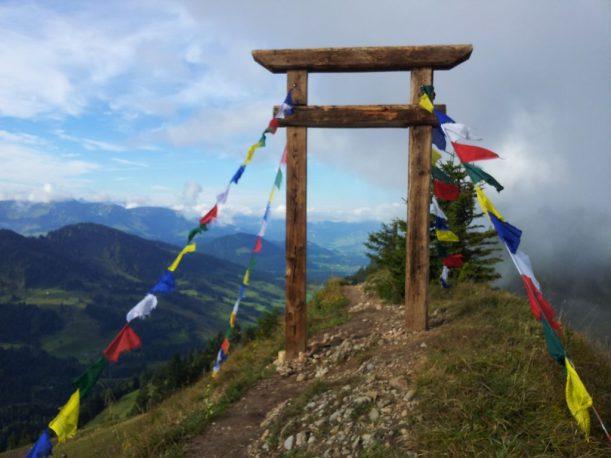 Wanderweg - Tor zwischen Hochgrat und Seelekopf