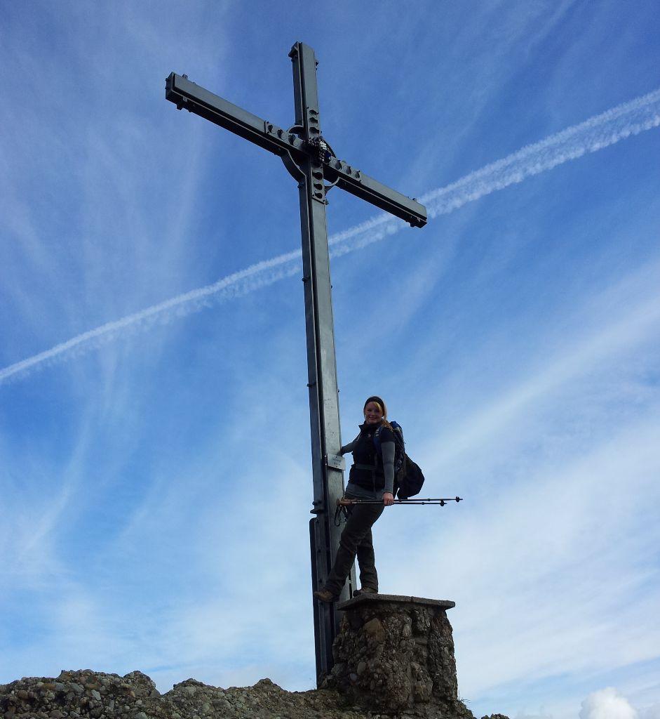 Gipfelkreuz - Seelekopf - ein Zwischenziel am Wanderweg