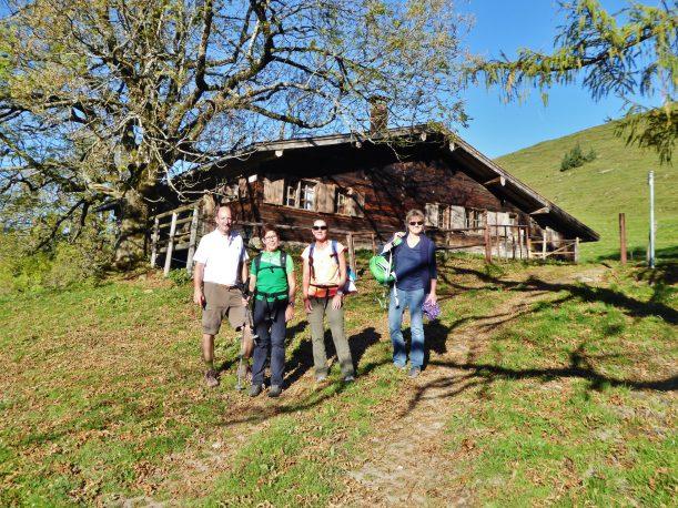 Westallgäuer Wanderwochen - Panoramawanderung Alpsee - Aufstieg