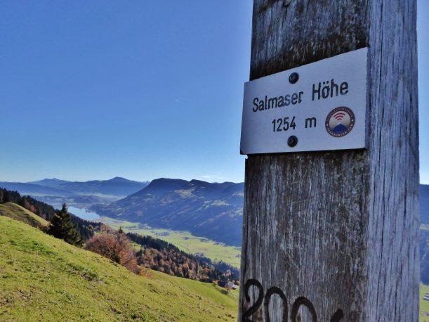 Westallgäuer Wanderwochen - Panoramawanderung Alpsee - Salmaser Höhe