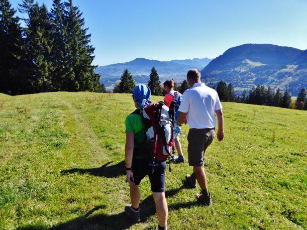 Westallgäuer Wanderwochen - Panoramawanderung Alpsee - Höhenweg