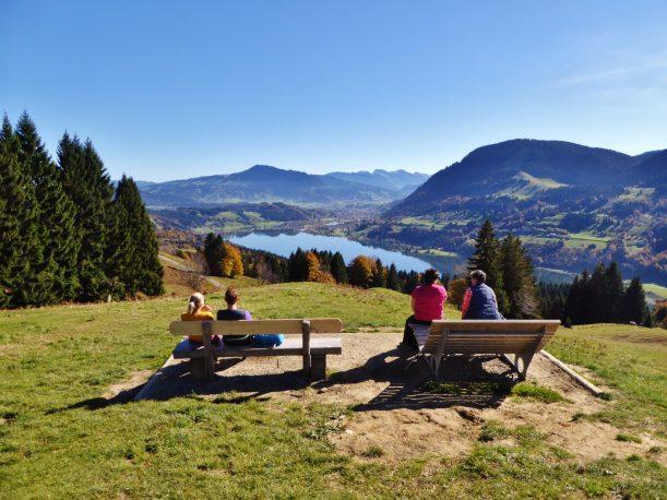 "Westallgäuer Wanderwochen - Panoramawanderung Alpsee - Aussichtspunkt ""Seeblick"""