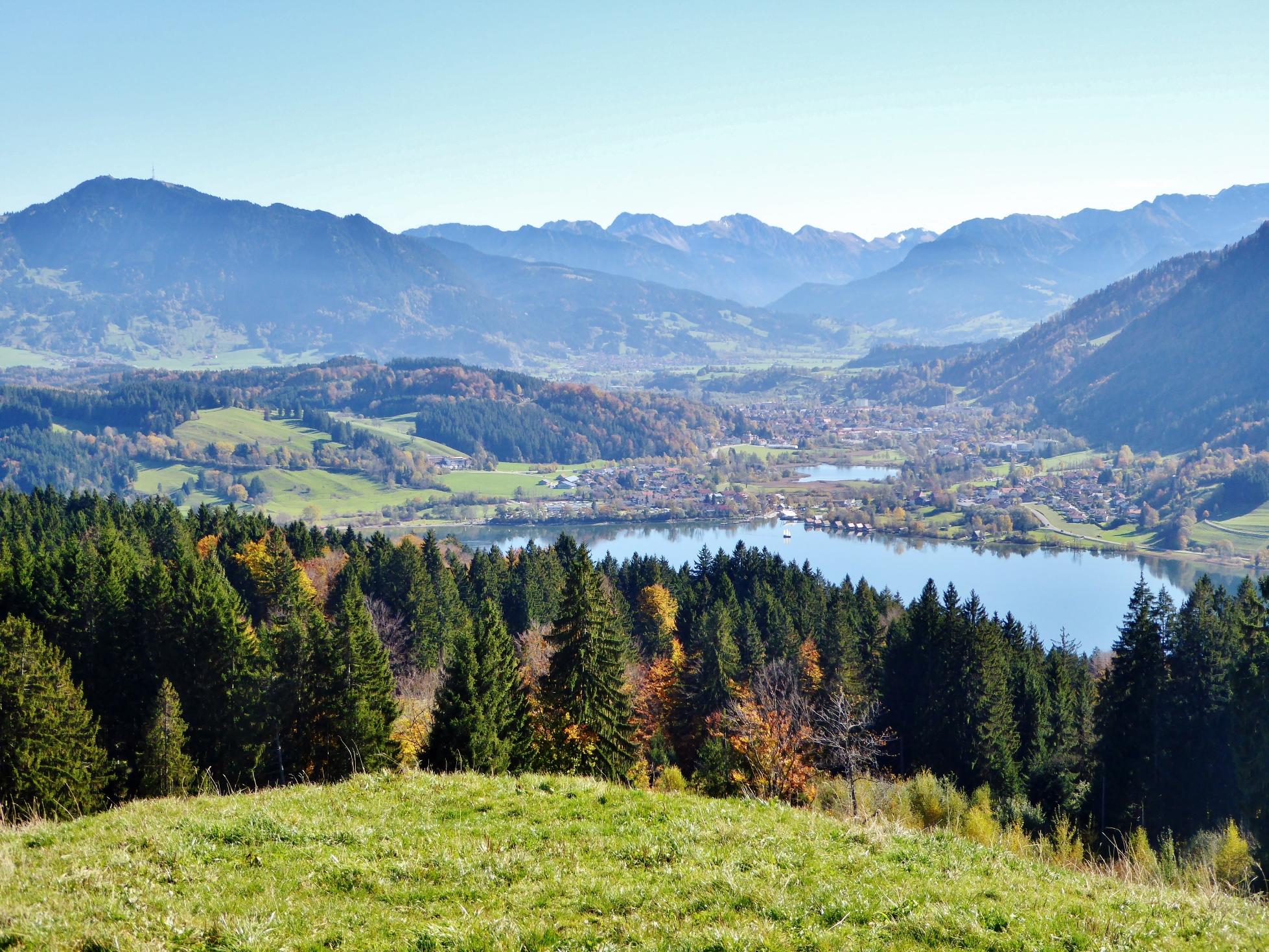 Westallgäuer Wanderwochen - Panoramawanderung Alpsee - Alpsee und Grünten