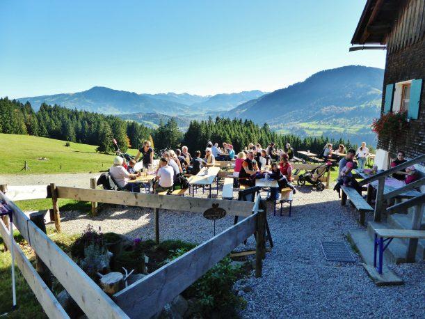Westallgäuer Wanderwochen - Panoramawanderung Alpsee - Siedelalpe