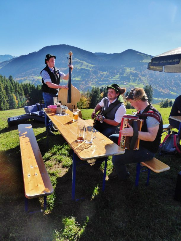 Westallgäuer Wanderwochen - Panoramawanderung Alpsee - Musik