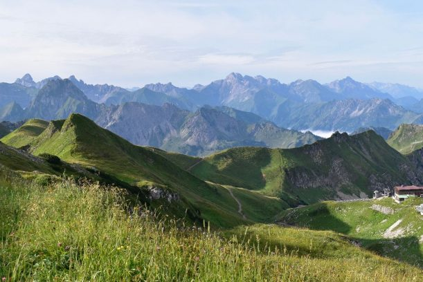 Edmund Probst Haus - Von hier blickt man ins Herz der Allgäuer Alpen