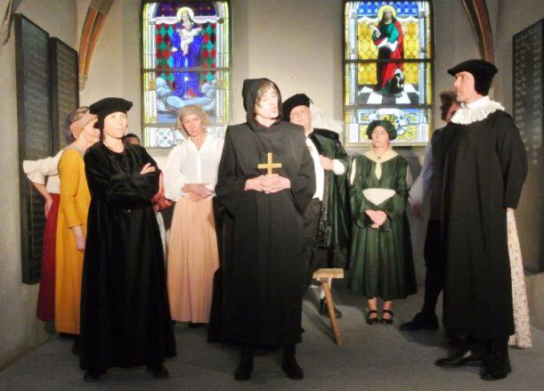 gespielte Reformation in Isny