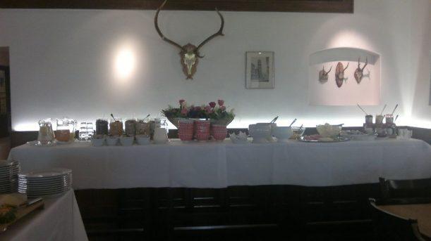 Frühstück im Hotel Mohren-Post in Wangen im Allgäu