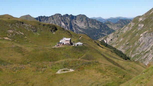 Berglandschaft der Allgäuer Alpen