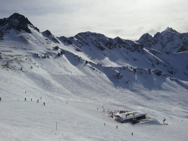Zwerenalpe im Skigebiet Fellhorn