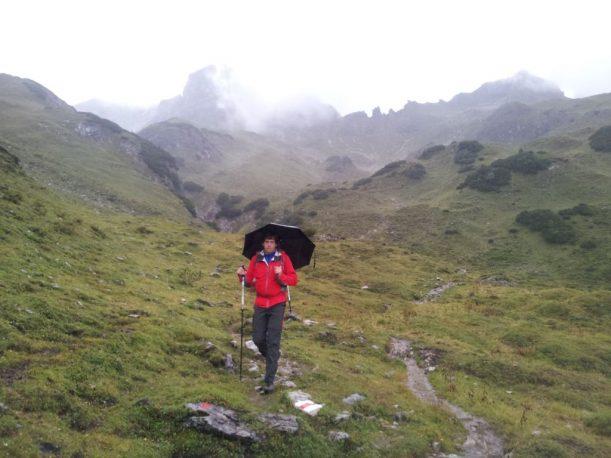 Von der Mindelheimer zur Rappensee-Hütte über die Via Alpina