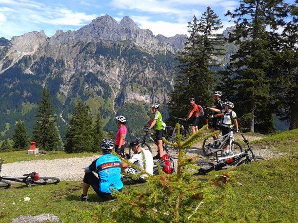 Radtour in Tirol