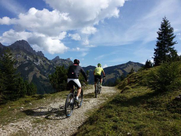 Radfahren in den Allgäuer Alpen