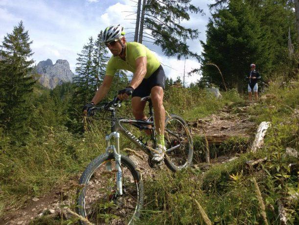 Mountainbike im Tannheimer Tal
