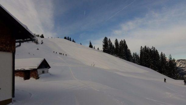 Winterwanderung in Nesselwängle