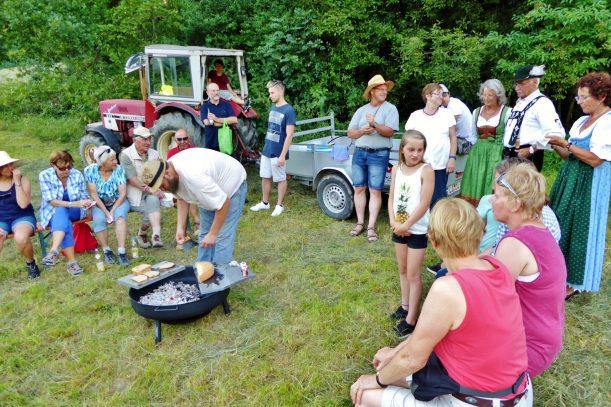 Raclette am Erratischen Block