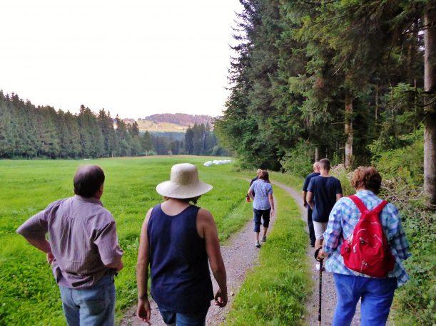 Wanderung nach Weiler