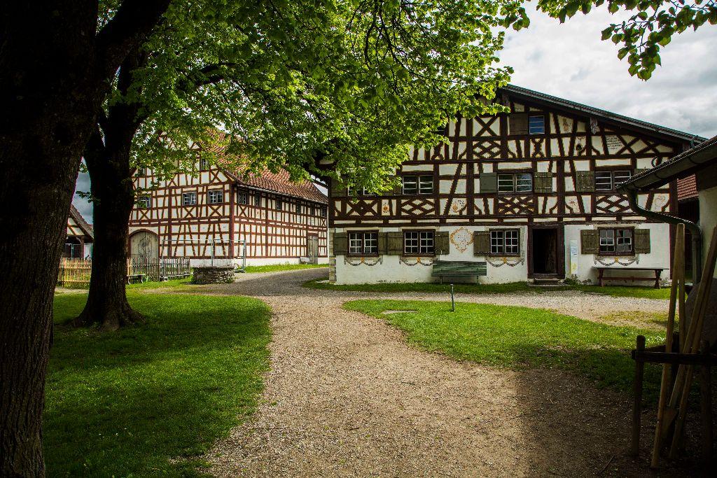 Schwäbischen Bauernhof Museum Illerbeuren - Radrunde Allgäu