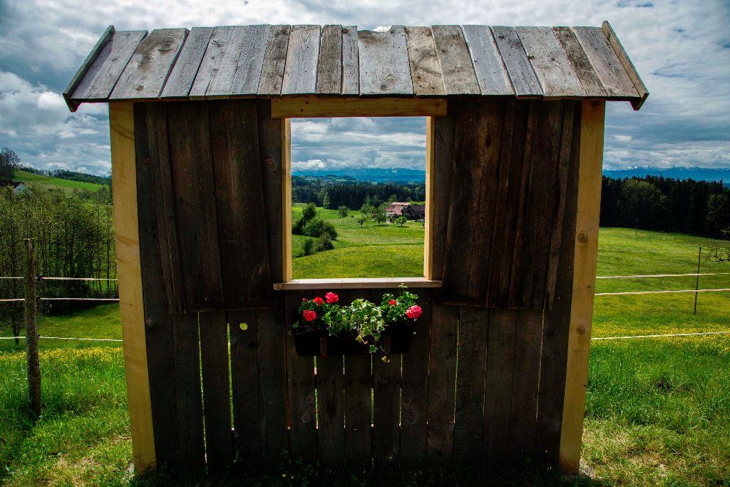 Ein kleines Fenster ins Allgäu entlang der Radrunde Allgäu.