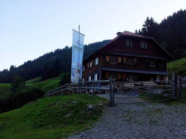 Berghütte: Untere Richteralpe im Allgäu