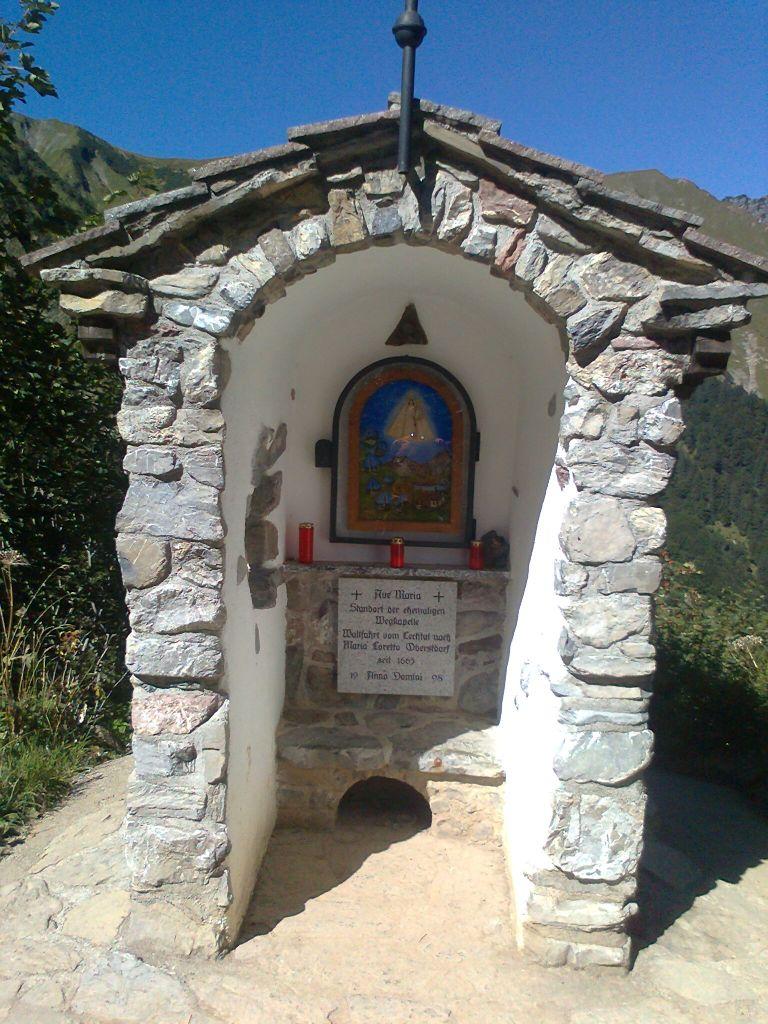 Wallfahrer-Kapelle am Knie Im Allgäu