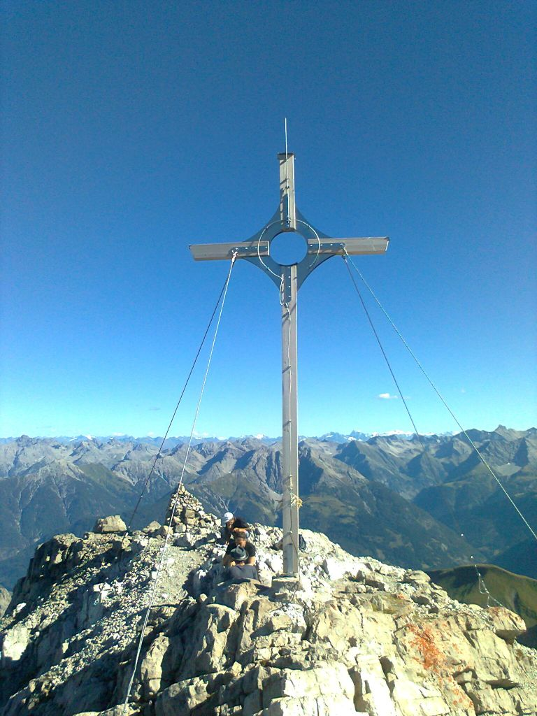 Gipfelkreuz Großer Krottenkopf