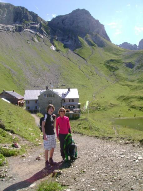 Diese Hütten prägen das Landschaftbild der Allgäuer Alpen