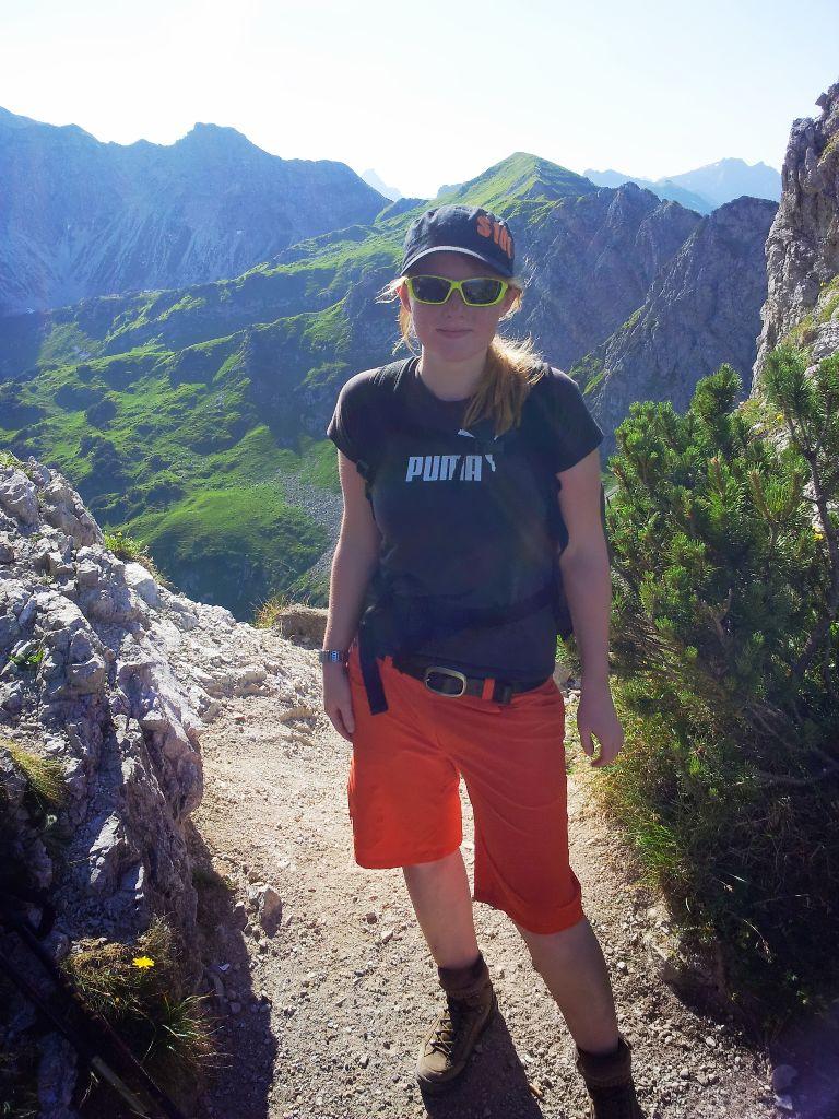 Sattel zwischen Rubi-und Gaisalphorn in den Allgäuer Alpen