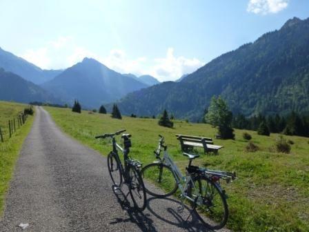 Start der Radtour  im Hintersteinertal