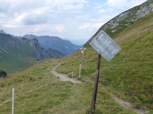 Tannheimertal, Fernwanderweg Via alpina