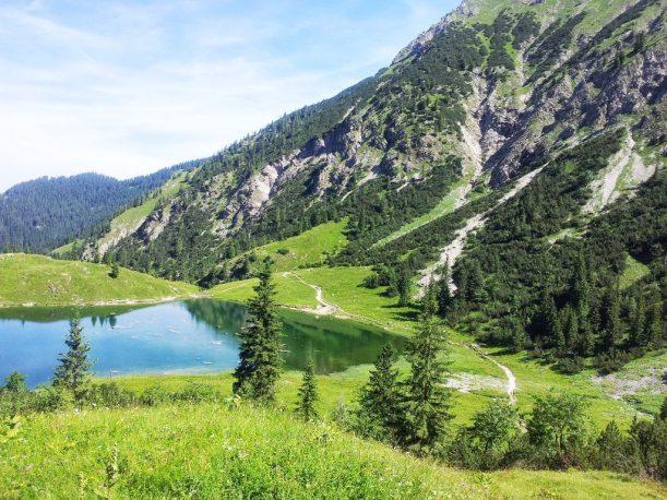 Wanderung zum Gaisalpsee in den Allgäuer Alpen