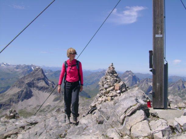 Gipfel des Berges erreicht - Das Hohe Licht auf 2.651 m