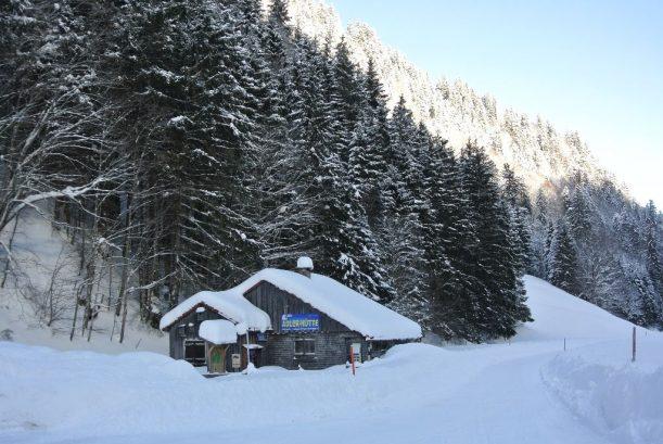 Adlerhütte am Giebelhaus