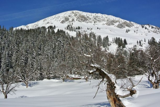 DAV-Hütte im Paradies
