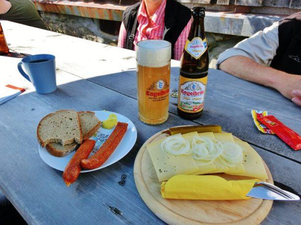 Alpe Fahnengehren - Brotzeit