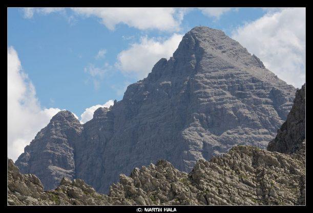 Abstiegsmöglichkeit Rauhhorn in den Allgäuer Alpen
