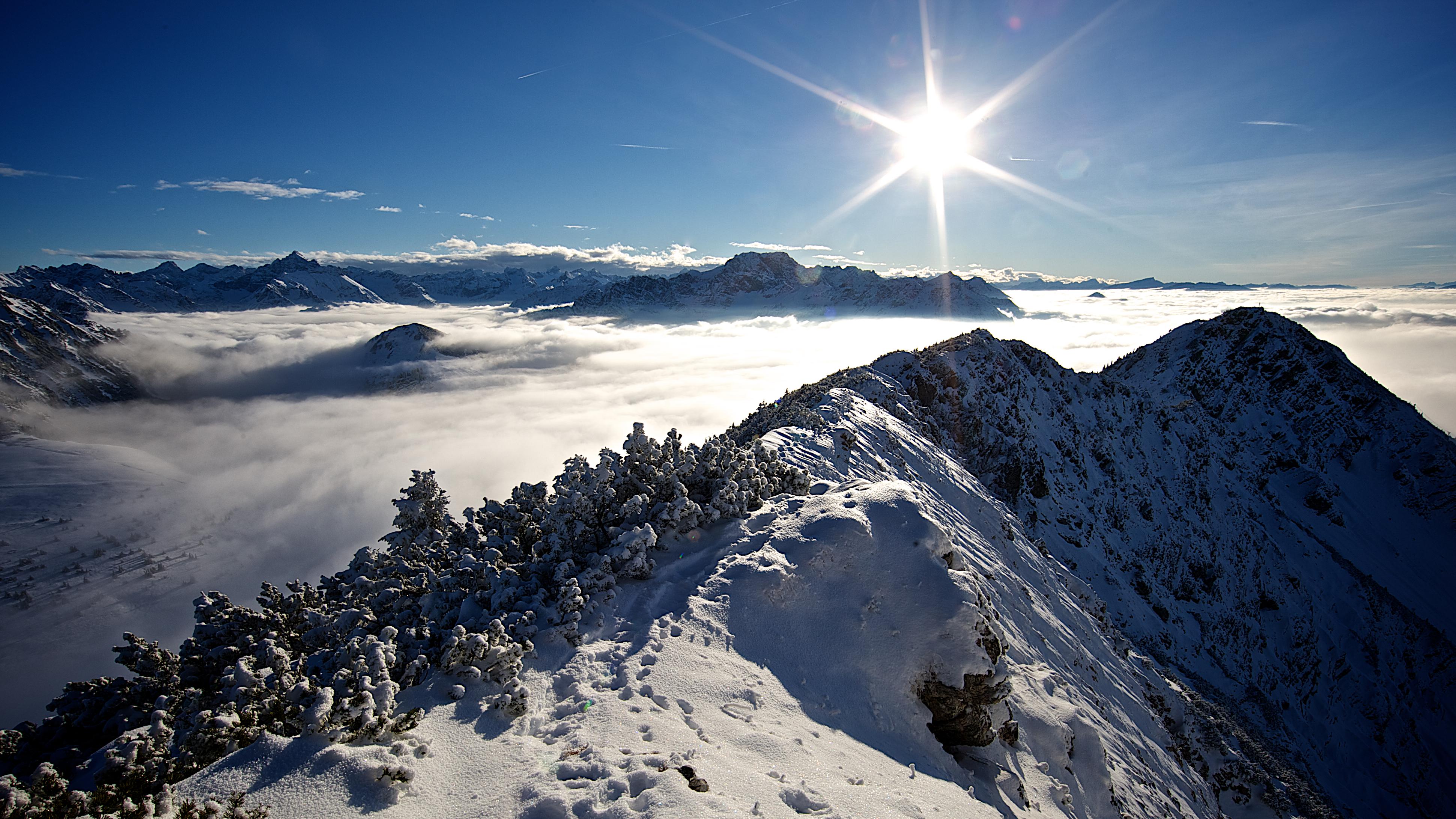 Allgäuer Alpen in Bayern
