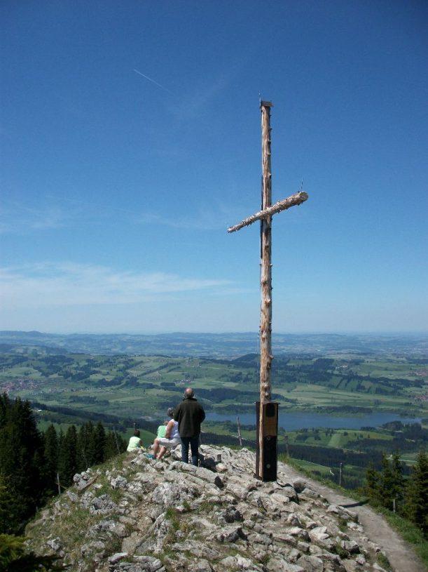 Die Alpspitze: Ziel der Wanderung