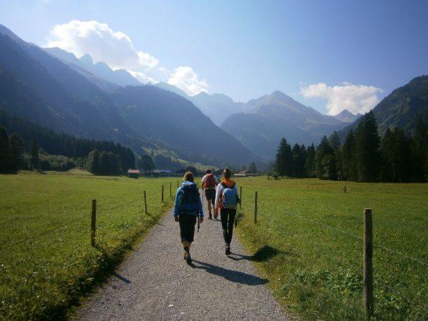 Anatswald nach Birgsau