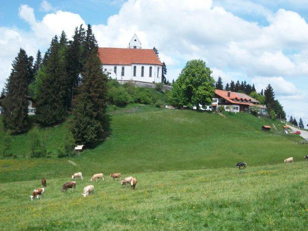 Auerberg in den Allgäuer Alpen