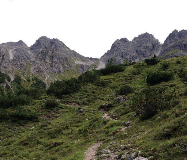 Wandern im Naturschutzgebiet Allgäuer Hochalpen