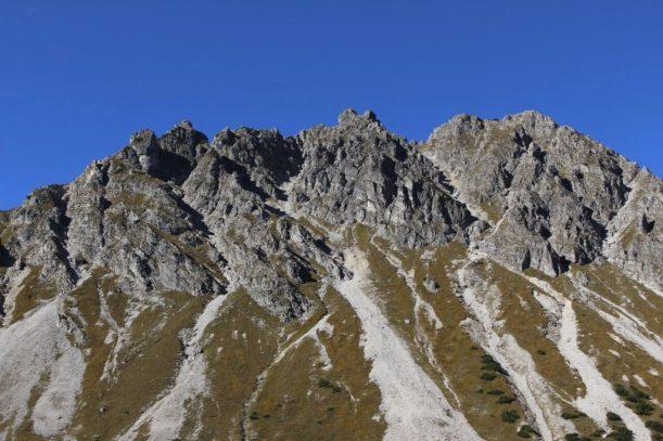 aussicht in den allgäuer alpen