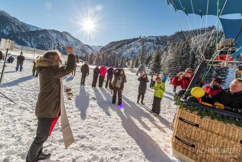 Ballontaufe Tannheimer Tal, Tirol