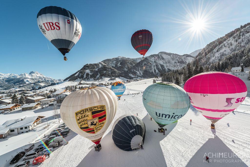 Ballonfahrt Tannheimer Tal, Tirol