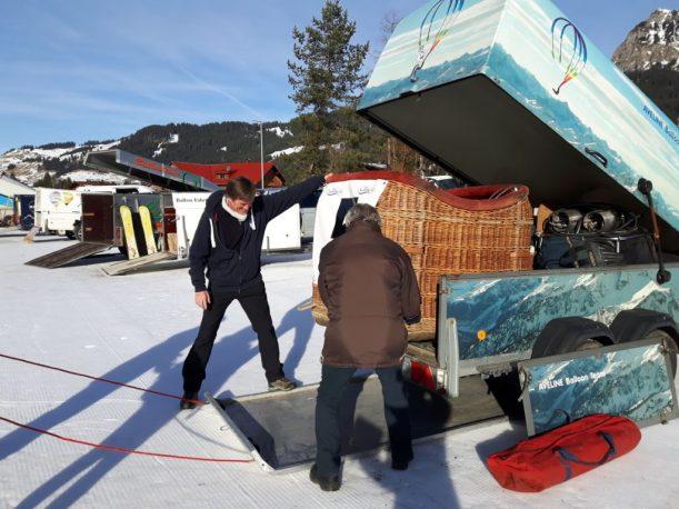 Französisches Team, aber mit Allgäuer Alpen als Dekor