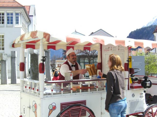 Beppos Eiskutsche in Füssen
