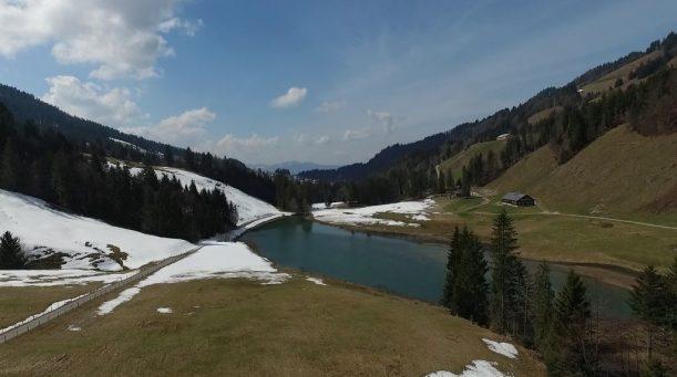 Höfle Alp und Lecknersee