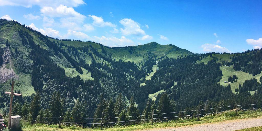 Steinzeit Jagdrevier der Wildbeuter: das Riedberger Horn