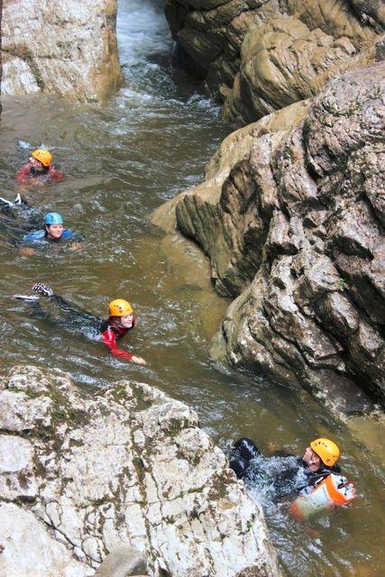 canyoning allgaeu starzlachklamm